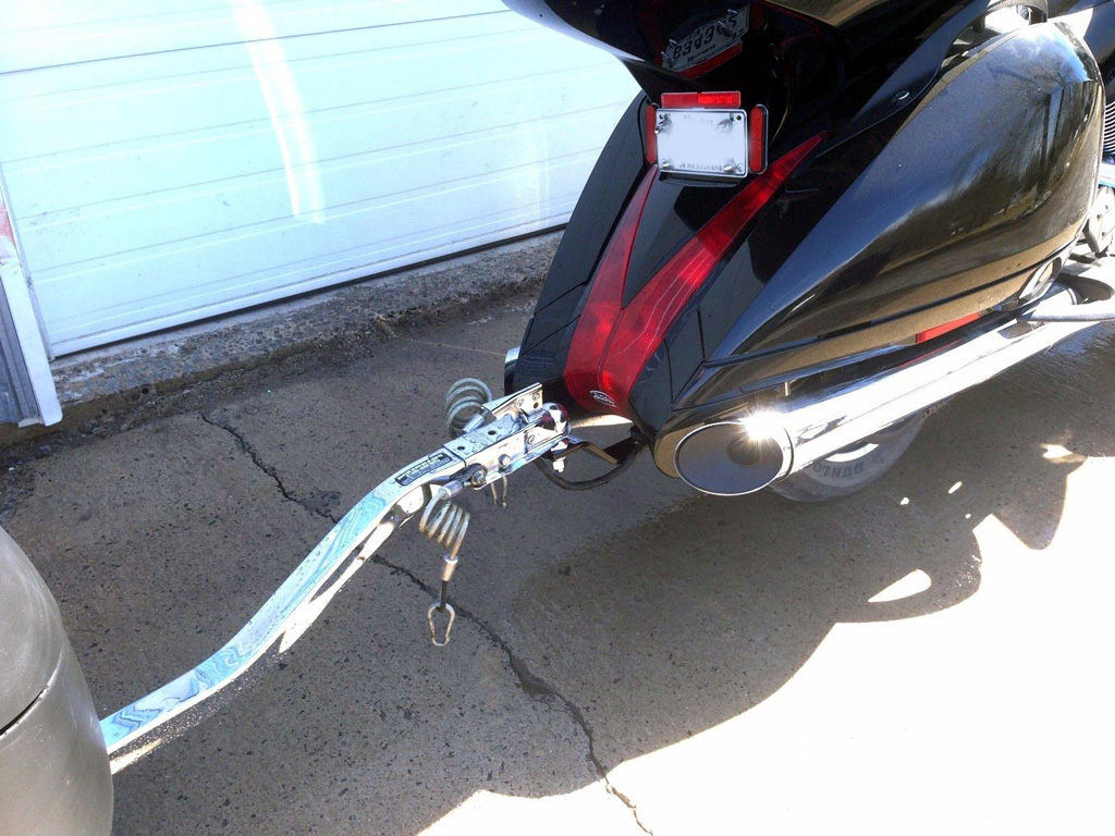 2008 Up Victory Vision Trailer Tow Hitch Etc Wiring Harness Holder